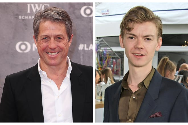 Hugh Grant and Thomas Brodie-Sangster