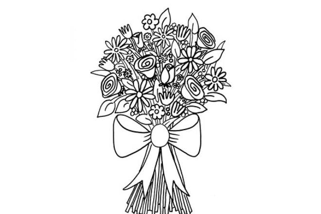 Mother's Day colouring pages