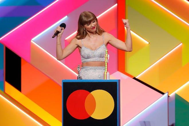 Taylor Swift at Brit awards
