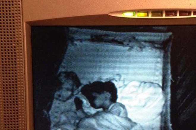 spooky baby monitor picture