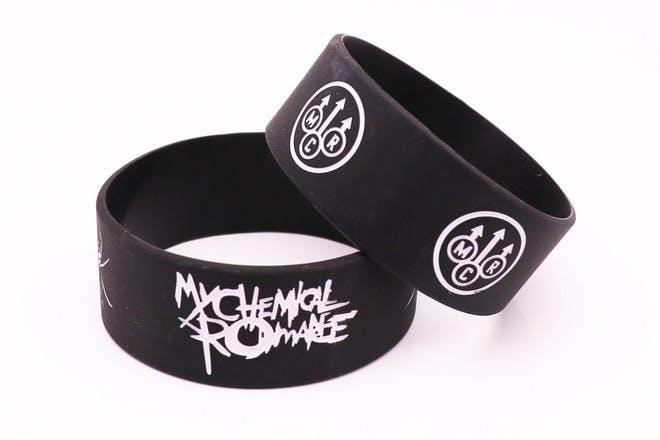 26. Wore band bracelets
