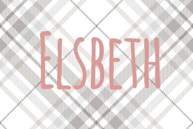 40. Elsbeth