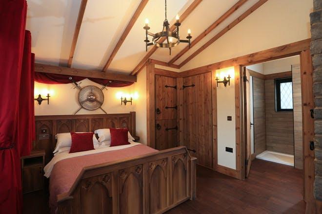 Inside Warwick Castle lodge