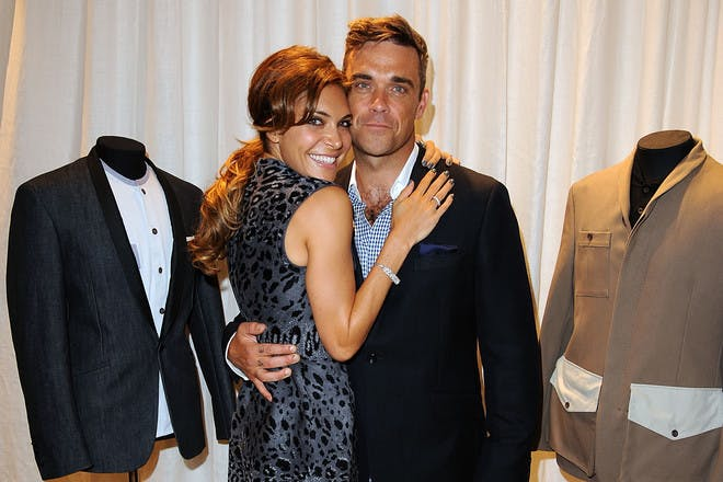 7. How did Robbie and Ayda get engaged?