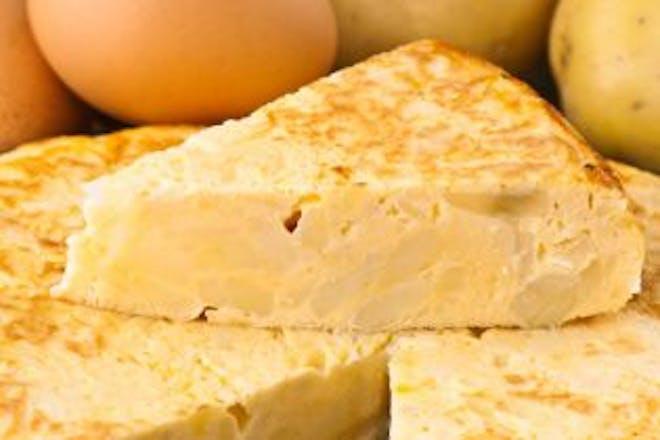 Classic Spanish omelette