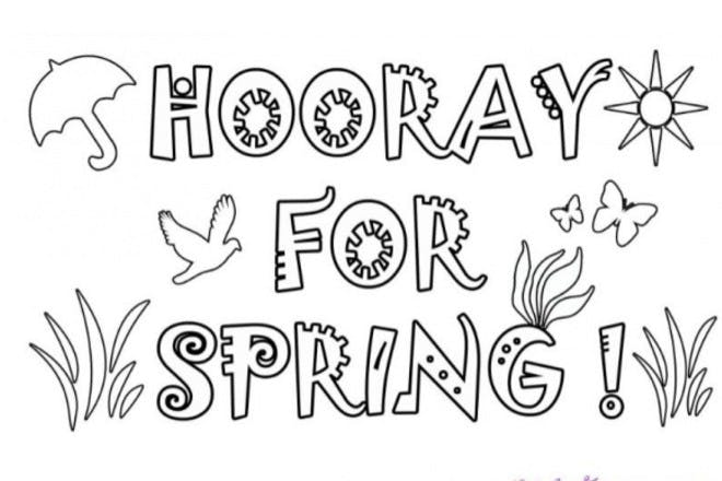 17. Hooray for Spring!