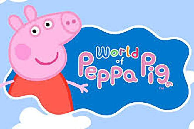 Title page from World of Peppa Pig app