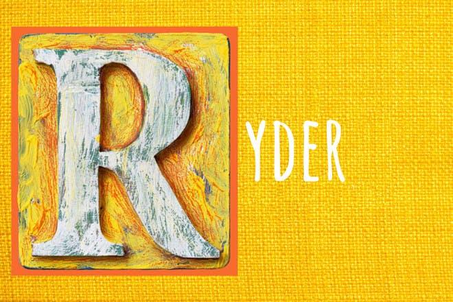 30. Ryder