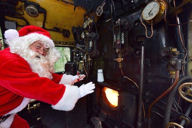Santa Specials at the North Yorkshire Moors Railway