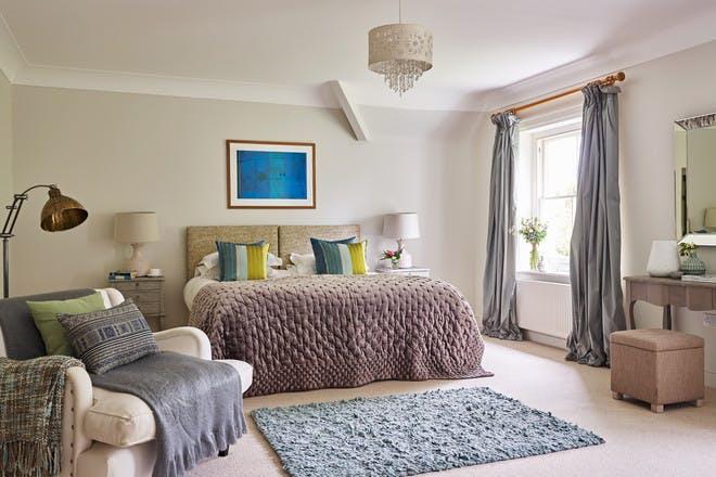 The Lindens' master bedroom