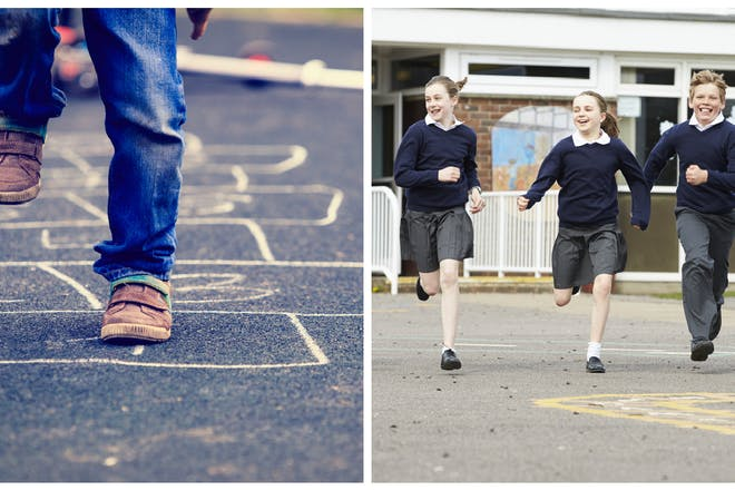 15 classic kids' games we all played at lunchtime