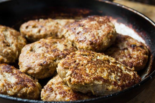 23. Gluten-free lamb burgers