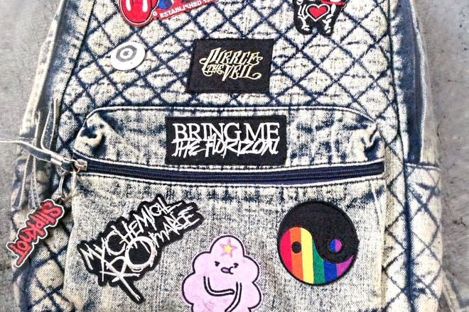 16. Jazzed up your schoolbag