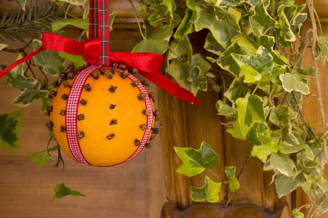 Christmas clove orange