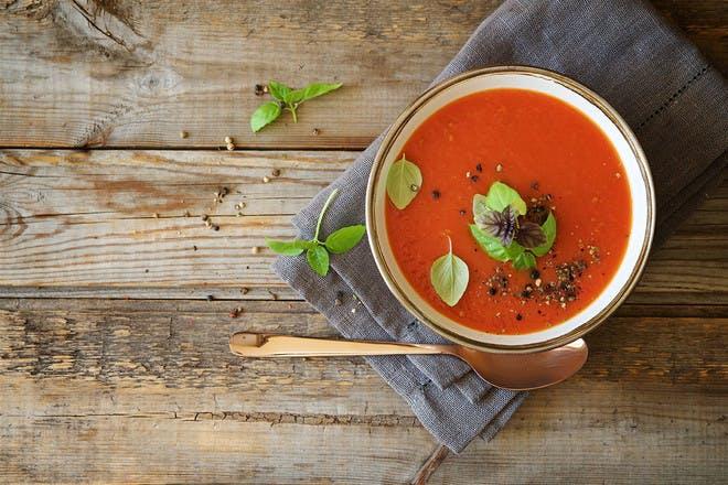 15. Tomato soup