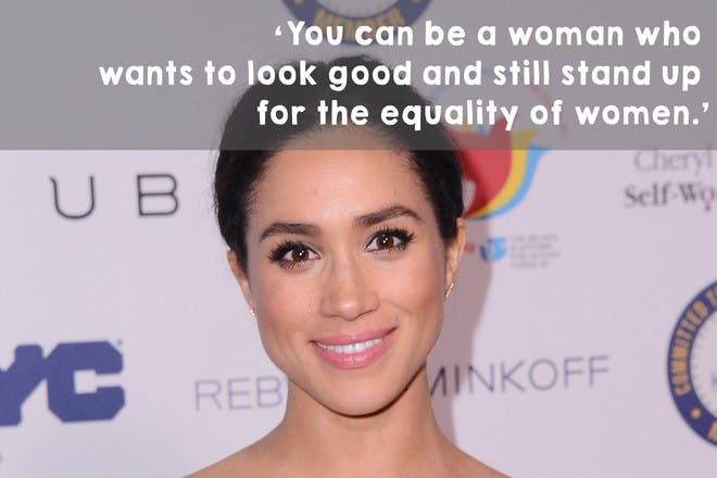 'You can be a woman who wants to look good and still stand up for the equality of women.'