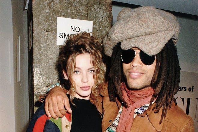 30. Kylie Minogue and Lenny Kravitz
