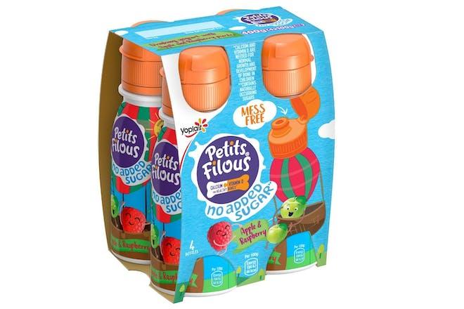 Petits Filous Mess Free No Added Sugar yoghurt