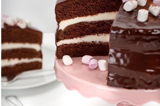 Gluten-free hot chocolate cake recipe