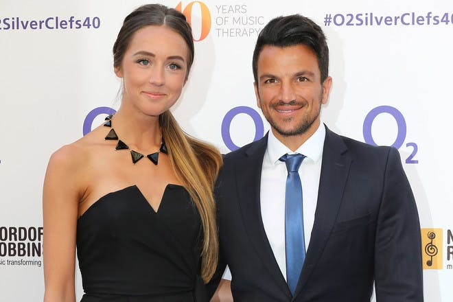 Peter Andre's and Emily MacDonagh