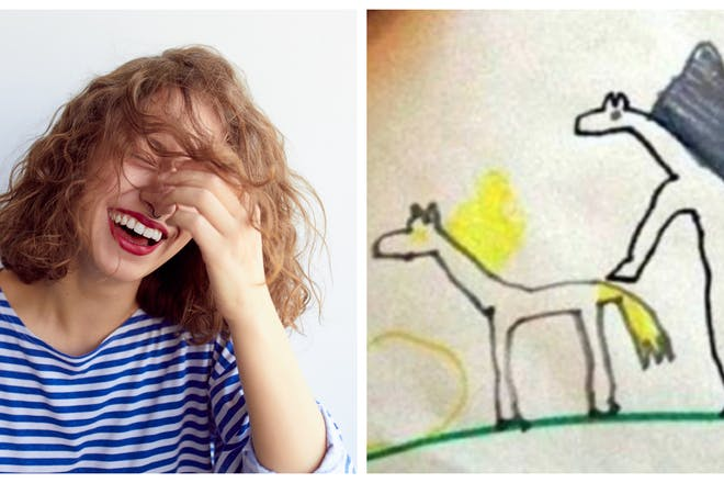 Accidentally inappropriate – and hilarious – children's drawings