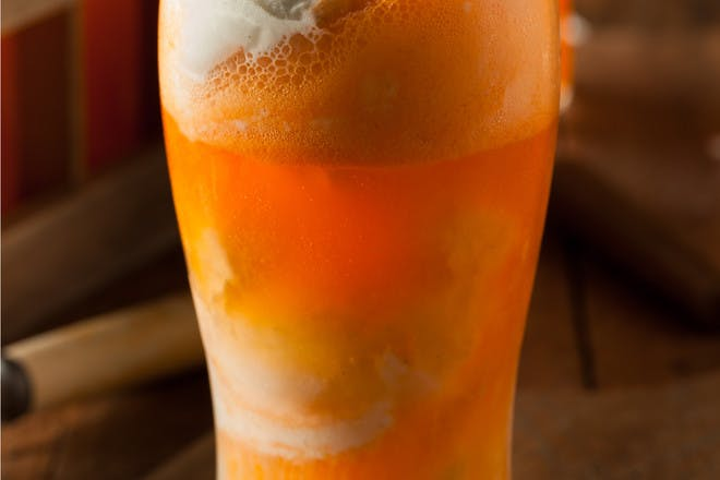 27. Grapefruit ice cream soda