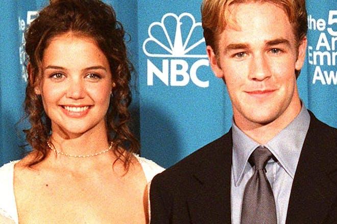 James Van Der Beek and Katie Holmes