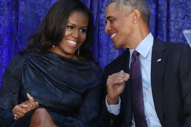 23. Barack and Michelle Obama