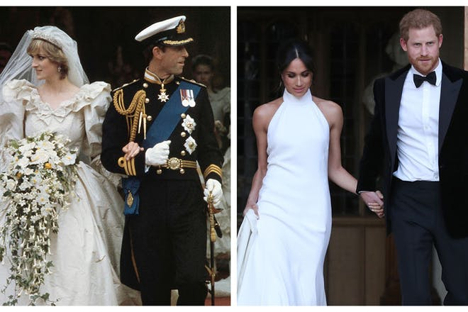 The best British royal wedding gowns of all time