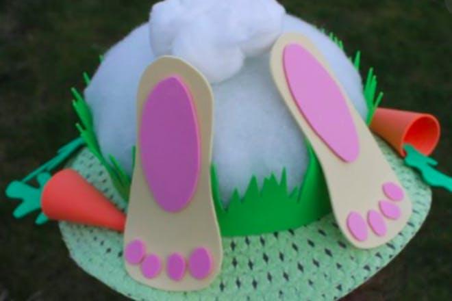 Easter bunny bottom bonnet