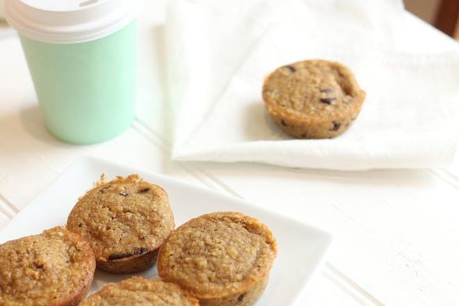 Sugar-free pumpkin and ginger muffins recipe
