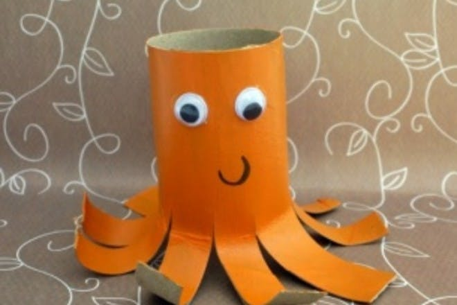 How to make a junk model octopus