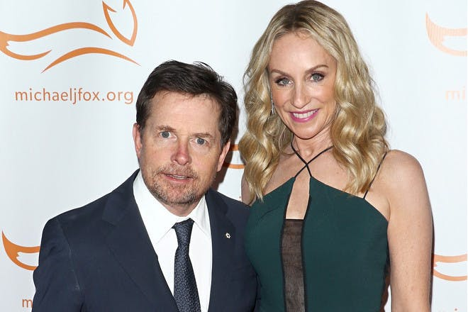 30. Tracy Pollan and Michael J. Fox