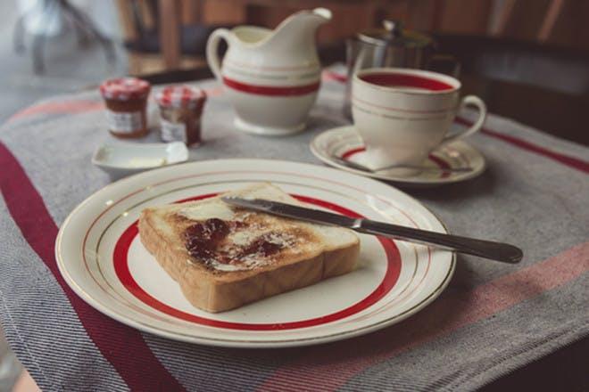 11. Make you tea and toast