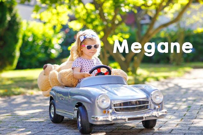 Megane baby name