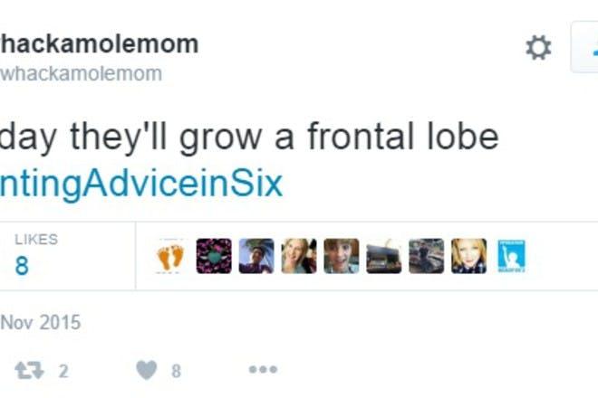 whackamolemom parenting advice tweet