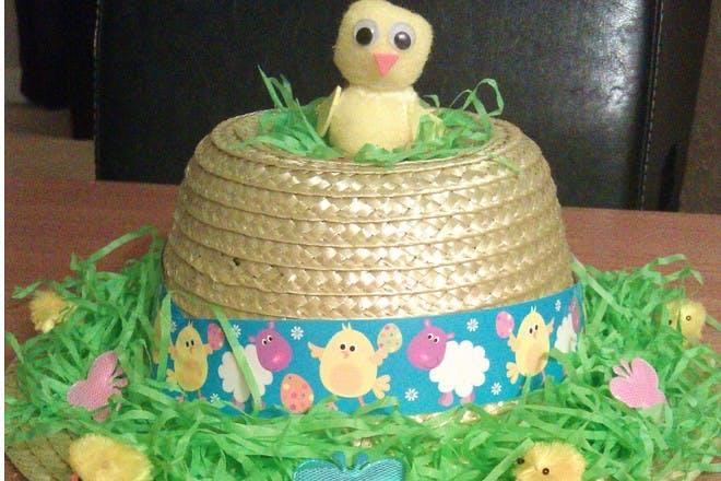 chick Easter bonnet