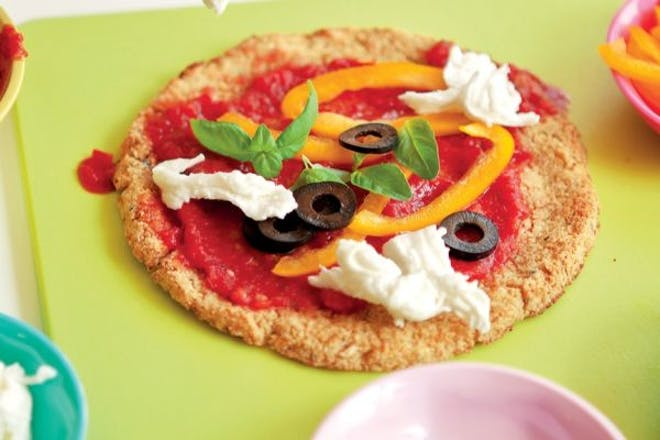 Cauliflower pizzette