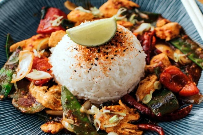 Wagamama's chicken firecracker
