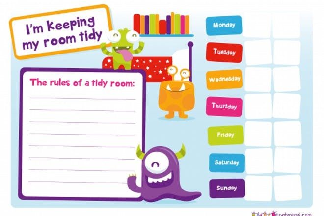 Keeping a tidy room