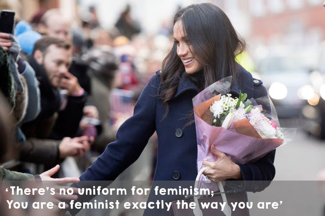 'There's no uniform for feminism; You are a feminist exactly the way you are.'
