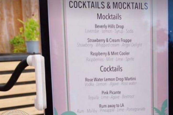 Cocktails board