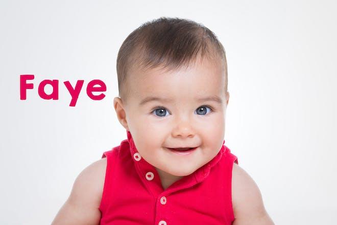 Faye baby name