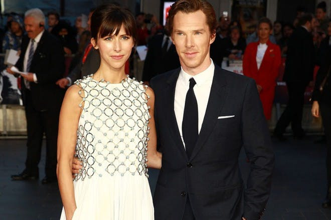 Benedict and Sophie Cumberbatch