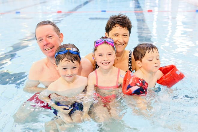 Happy times at Whiterock Leisure Centre