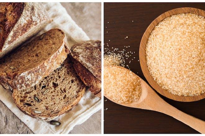 Brown bread / brown sugar