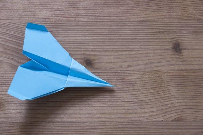 44. Make paper aeroplanes