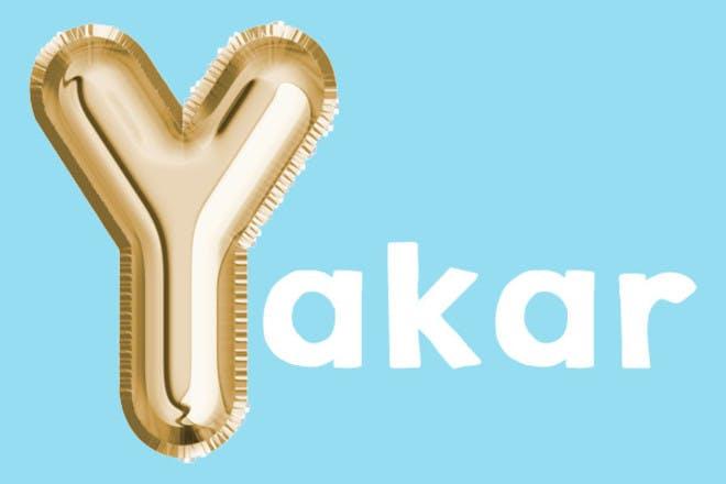 Yakar 'y' name