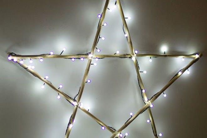 DIY Christmas star decoration