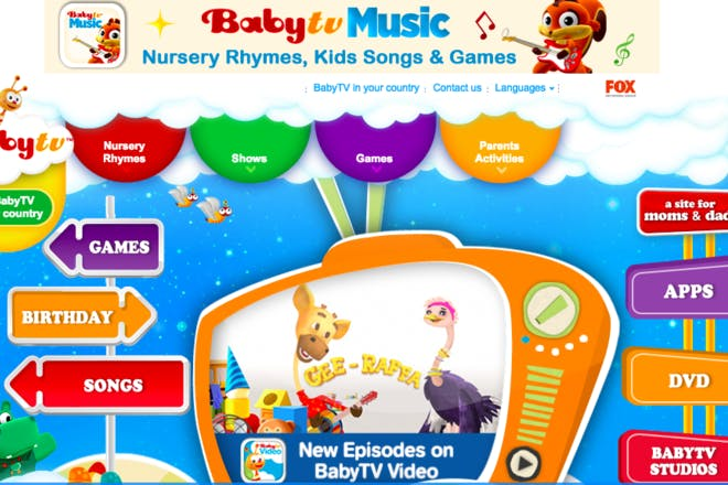 BabyTV educational website